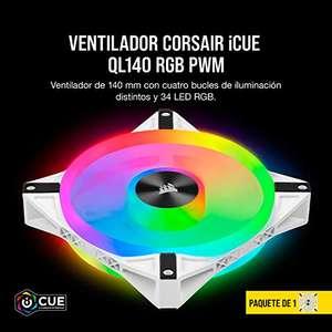 Ventilador Corsair iCUE QL140 RGB