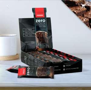 Pack 12 barritas zero snack prozis 35g