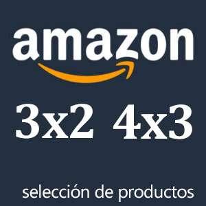 Amazon 3x2 y 4x3 [Selección de Productos]