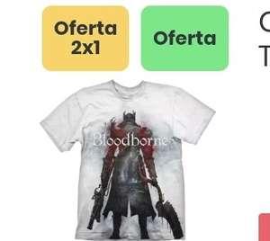 2x1 Camisetas Cultura Gaming