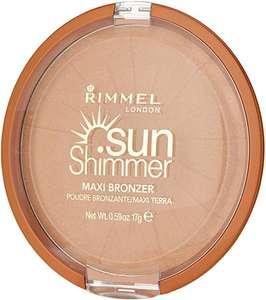 Rimmel london - Sun shimmer maxi bronzer powder 004 sun star