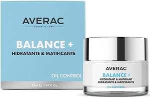 Averac Cosmetic Crema Balance +, Para Pieles Grasas y con Tendencia Acnéica, con Vitamina E y AHA 50 ml