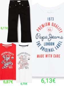 Ropa infantil Pepe Jeans por menos de 7€. Tallas 4, 6 y 14.