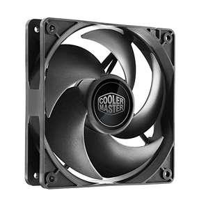 Cooler Master Silencio FP120 PWM , 4 Pin: 120mm Silencioso, 6.5-14 dBA, Rodamiento Loop Dynamic Sellado, Sensor Atasco, MTTF 160K hrs