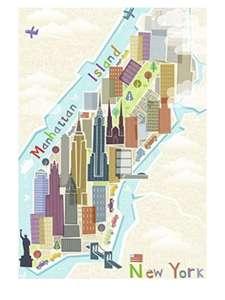 -Puzzle (99 Piezas), diseño de Nueva York,