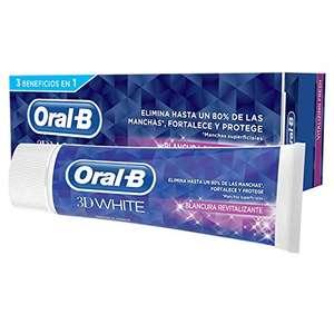 PACK 2 - Oral-B 3D White Blancura Revitalizante Pasta Dentífrica, 75 ml