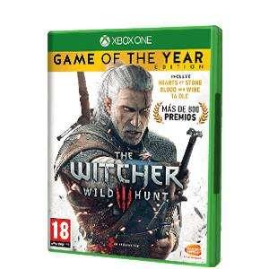 The Witcher 3: Wild Hunt a 2€ y GOTY a 3€ [XBOX, VPN ARG, UK], Amazon, MMarkt,15,99€