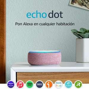 Amazon Echo Dot (3ª 19€, 4ª a 29€)