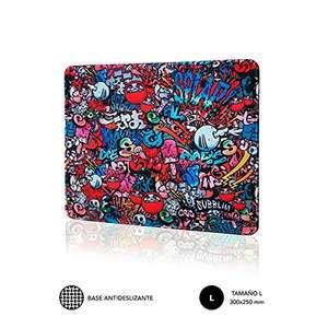 SUBBLIM Alfombrilla Ratón Graffiti L Mouse Pad 300x250