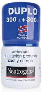 Neutrogena Bálsamo Hidratación Profunda Cara y Cuerpo, Piel Seca, 2 tarros de 300ml (compra recurrente)
