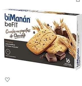 Caja galletas de proteína
