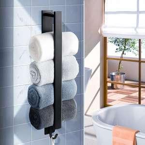 Toallero baño acero inoxidable solo 6.3€