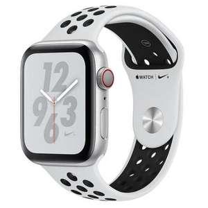 Apple Watch Nike+ Series 4 GPS + Cellular 40mm Aluminio Plata con Correa Deportiva Nike Platino Puro