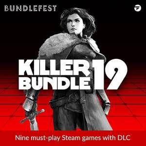 BUNDLEFEST - Killer Bundle 19, Learn Japanese Complete, Tower Defense Reloaded [Steam, +Regalo] y Harry Potter Bundle