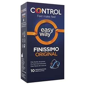 CONTROL Preservativos Easy Way Finissimo 10 unidades