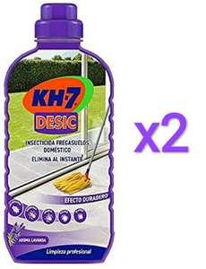 2 x 750ml KH-7 Desic Insecticida Fregasuelos (total 1.500ml)