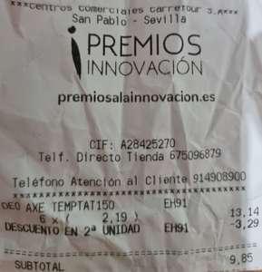 Axe 50% Segunda Unidad Carrefour San Pablo Sevilla