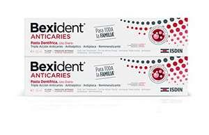Isdin Bexident Anticaries Pasta Dentrífica 2 x 125 ml