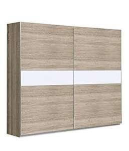 Armario para Dormitorio con Puertas correderas. (170 x 200 cm, Roble)