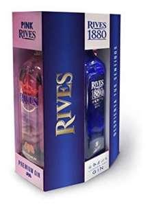 Pack ginebras Rives (3 botellas)