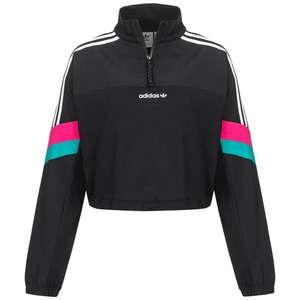 Adidas Originals Half Zip Cropped Sudadera, talla 42