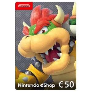 Tarjeta Nintendo Eshop 50 euros EUROPA