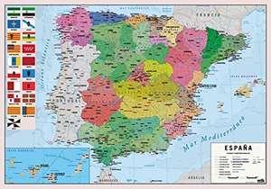 Tapete escritorio Mapa de España