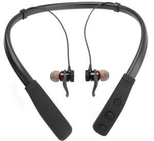 Auriculares deportivos de botón Inves ZW-23 Bluetooth + Cable de Carga