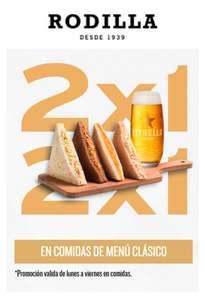 2x1 Menú Clásico Rodilla (4sw+bebida)