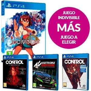 Juego Indivisible PS4 + juego a elegir de PS4