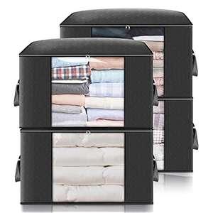 4 Bolsas de almacenamiento grandes para ropa