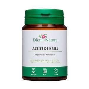 40% en botes de Aceite de Krill