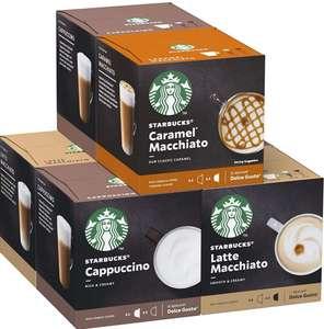 [6 Cajas x 12 Und] STARBUCKS White Cup Variety Pack De Nescafe Dolce Gusto Cápsulas+ En Descripción!