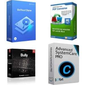 Syntronik Instruments Bully, ASCOMP PDF Conversa, AceMovi Video Editor, Advanced SystemCare PRO 14 y otros [Licencias de por vida o 6 meses]