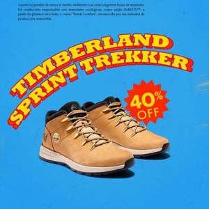 40% descuento en botas Timberland + 10% EXTRA