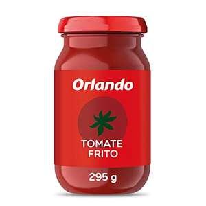 ORLANDO Tomate Frito Clásico Cristal 295g (Sin Gluten ni conservantes) por sólo 0,51€