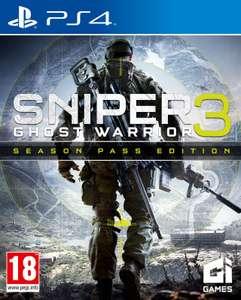 Sniper Ghost Warrior 3 Season Pass Edition PS4 (Digital) incluye juego completo