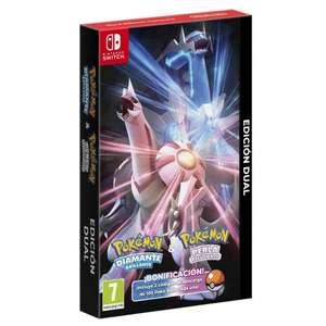 Pokémon Diamante Brillante & Perla Reluciente Dual [Steelbook]