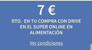 7€ gastando 90€ en tu compra en Carrefour Drive