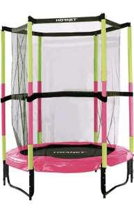 Hudora kinder-trampolin SALTO EN con Red de seguridad - 140cm