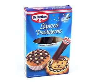 Dr.Oetker 3 Lápices Pasteleros Sabor Chocolate