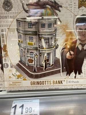 Puzzle 3D Harry Potter- Maquetas varias- Carrefour Manresa