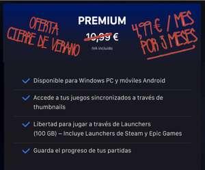 Nware Premium por 5€/mes durante 3 meses (juegos en la nube para Windows y Android)