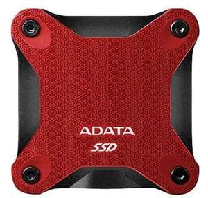 Disco duro externo Adata SD600Q. 240GB USB 3.0 Rojo Carrefour Rosaleda (Málaga)