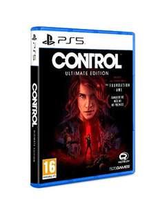 Control Ultimate edition (PS5 y PS4)
