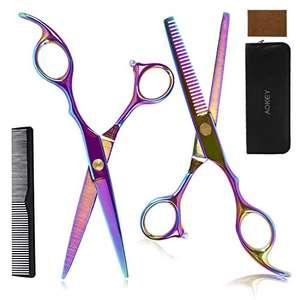 kit de tijeras peluquería profesional
