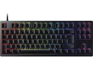 Teclado gaming - Razer Huntsman Tournament Edition, USB, Retroiluminación, Teclas opto-mecánicas, Negro