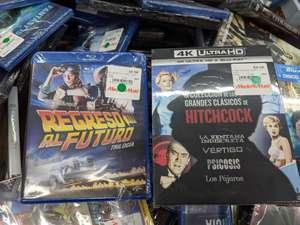 Liquidación películas 4K, Blu-ray y DVD desde 4,99€ - Mediamarkt Alfafar (Valencia)