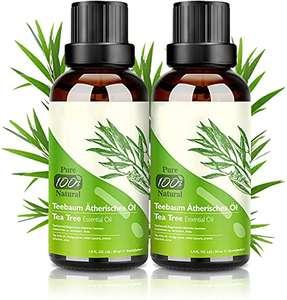 2 Botes Aceite de Árbol del Té 100% Natural