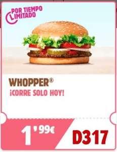 Hamburguesa WHOPPER en Burger King